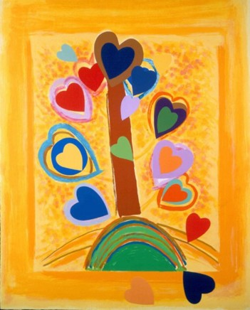 Sir Terry Frost RA, Yellow Love Tree