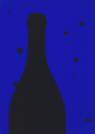 Patrick Caulfield RA Night Sky, 1973 Screenprint. 20 x 15 cm Framed Edition of 100