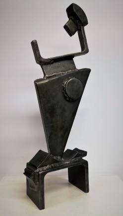Neil Wood Seeker IV, 2019 Mild Steel 51 x 20 x 9 cm