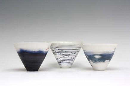 Ali Tomlin V Bowls (more colours available) Porcelain