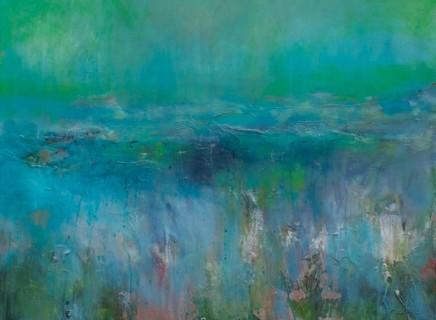 Debra Royston Through The Fields Oil on canvas 60 x 80 cm