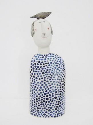 Jane Muir, Bird-Head, Blue Spots