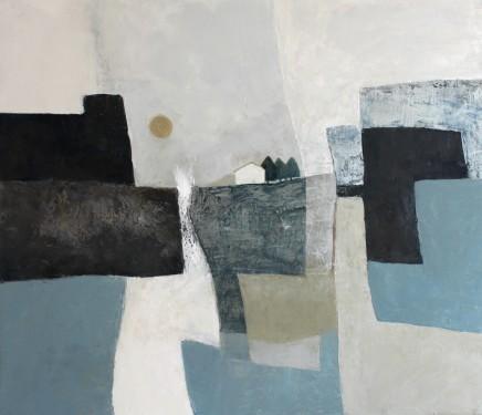 Teresa Lawton The Retreat Oil on canvas 30 x 35 cm