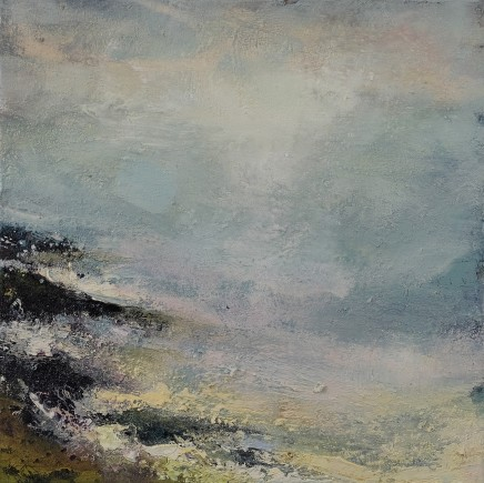 Nicola Rose Abyss - Isle of Iona Oil on canvas 50 x 50 cm