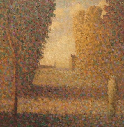 Nicholas Turner RWA, Path to the Sea with Figure