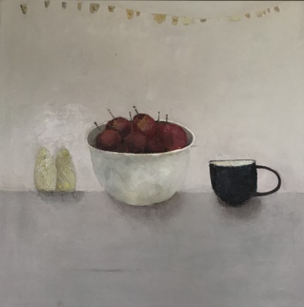 Marilyn Browning Still Life Oil on canvas 100 x 100 cm