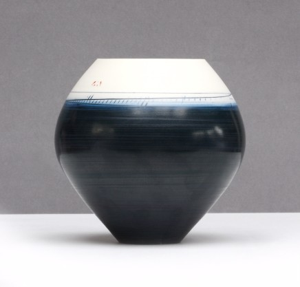 Ali Tomlin Spherical Indigo Porcelain
