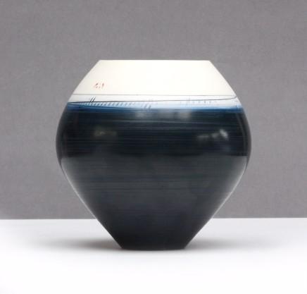 Ali Tomlin  Spherical Indigo  Porcelain
