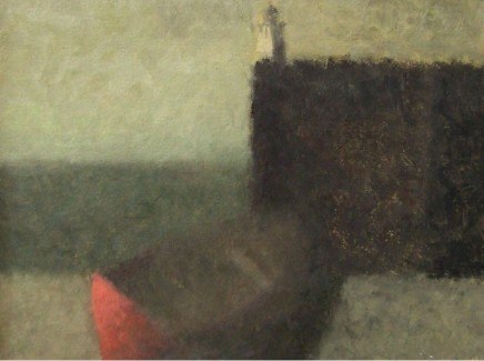 Nicholas Turner RWA, Boat and Lighthouse