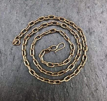 Daya Daya Designs Solid Handmade Gold Chain Solid 9ct gold handmade chain Hand Crafted