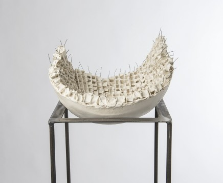 Mary Jane Evans Afloat Porcelain and Nichrome 32 x 15 x 18 cm