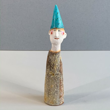 Jane Muir Men in Hats III Ceramic 20 x 5 x 3.5 cm