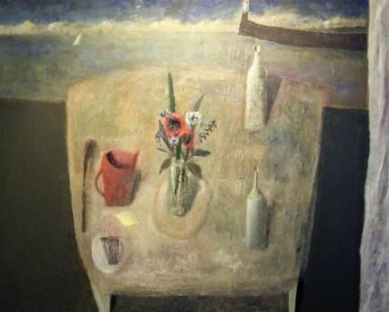 Nicholas Turner RWA Cornish Table Oil on linen 80 x 100 cm