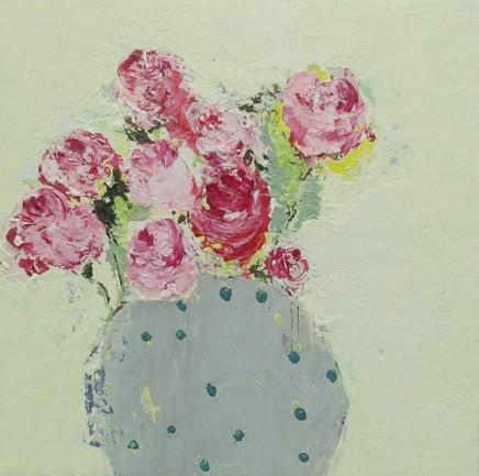 Lorraine Wake Dotti Oil on canvas 25.5 x 25.5 cm