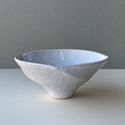 Keith Menear Crackled Glaze Bowl small Stoneware 13 x 9 cm 1111-1