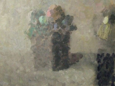 Nicholas Turner RWA Flowers Oil on board 15 x 20 cm