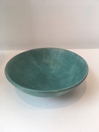 Peter Mumford Green Small Bowl Hand Thrown Stoneware Pottery