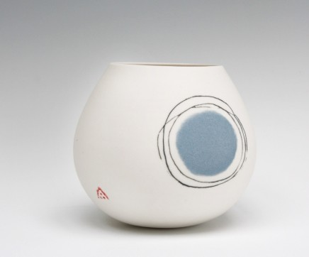 Ali Tomlin Weeble. Blue Dot Porcelain