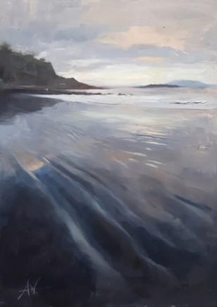 Archie Wardlaw Carsaig Bay, Mull Oil on canvas 61 x 46 cm