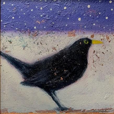 Catherine Hyde The Blackberry Snow, 2019 Acrylic on canvas 20 x 20 cm