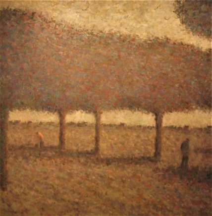 Nicholas Turner RWA Harvest Time Oil on linen 80 x 80 cm