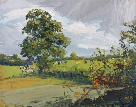 Robert Newton Sycamore Tree Oil on linen 36 x 46 cm