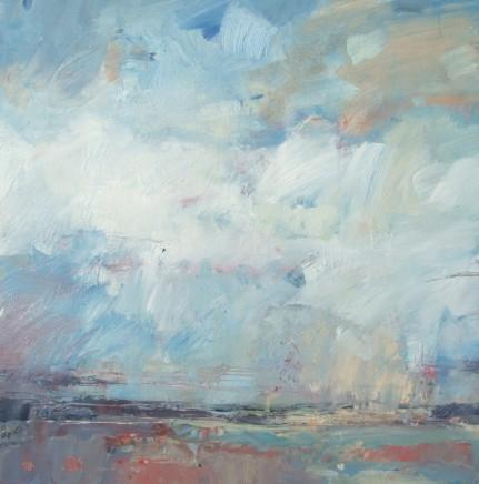 Andrew Kinmont Across The Plains Oil on canvas 50 x 50 cm