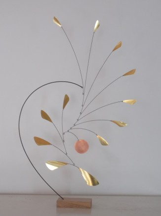 Ed Willis Table Sculpture 40 Copper and Brass Limited edition of 25 55 x 37 cm
