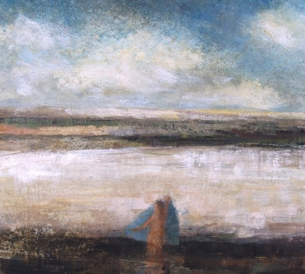 David Brayne RWS, Bather with Blue Towel