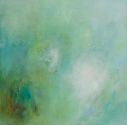 Debra Royston Daydreaming Oil on canvas 60 x 60 cm