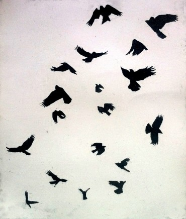 Christopher Gray In Flight Etching 30 x 25 cm