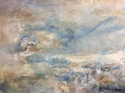 Debra Royston  Beautiful Evening  Oil on board  30 x 40 cm