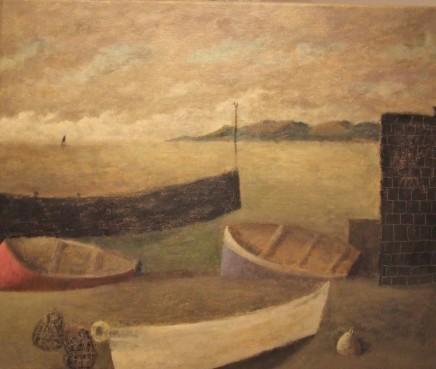 Nicholas Turner RWA, Boat and Creels