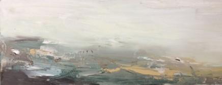 Georgie Mason Untitled Oil on board 30 x 10 cm