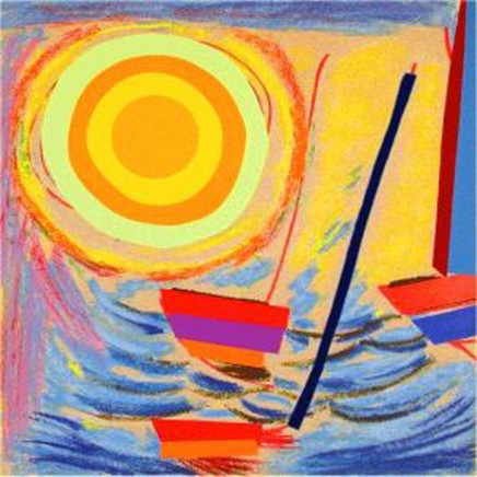 Sir Terry Frost RA, Sun and Boats
