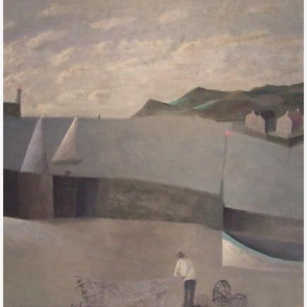 Nicholas Turner RWA, Headland and Boat