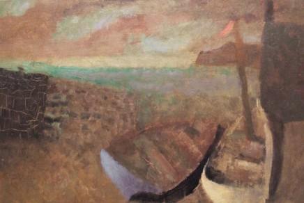 Nicholas Turner RWA, Two Boats