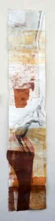 Jeremy Gardiner Kimmeridge, November, 2012 Monoprint 160 x 30 cm POA