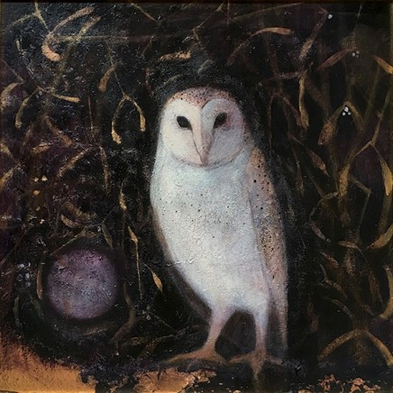 Catherine Hyde The Gleaming Star, 2018 Acrylic on canvas 50 x 50 cm