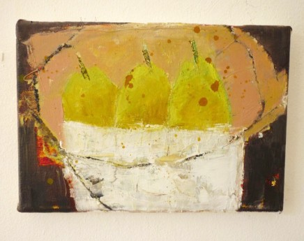 Marilyn Browning, Three Pears in Bowl