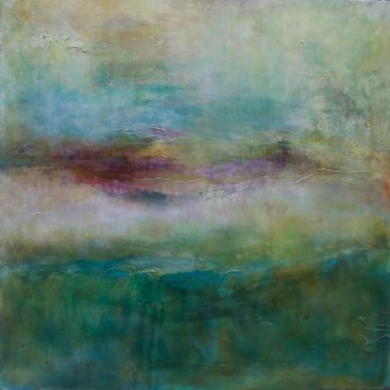 Debra Royston Soft Light Mixed media on canvas 80 x 80 cm