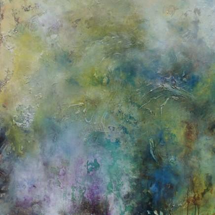 Debra Royston Lost In The Moment Mixed media on Canvas 100 x 100 cm