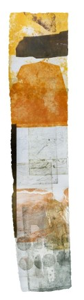 Jeremy Gardiner Lulworth Cove, April, 2012 Monoprint 160 x 30 cm POA