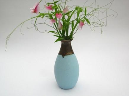 Keith Menear, Pastel Teardrop Vase