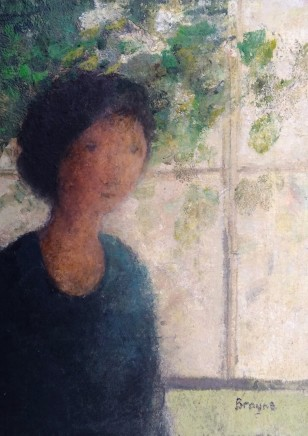 David Brayne RWS, Juno in the Greenhouse, 2020