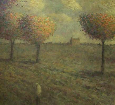 Nicholas Turner RWA, Autumn Field