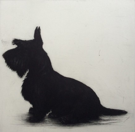Helen Fay Bronte's Big Brother Etching Edition 1 of 70 41 x 41 cm