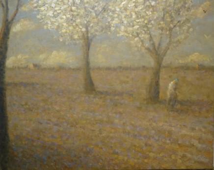 Nicholas Turner RWA Springtime Again Oil on linen 40 x 50 cm