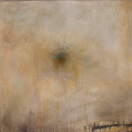 Debra Royston Everywhere Mixed media on Canvas 80 x 80 cm