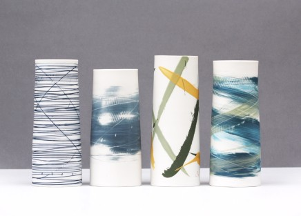 Ali Tomlin Four Cylinders Porcelain